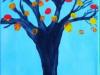 jesensko-drevo-slikanje-s-tempera-barvami-na-platno